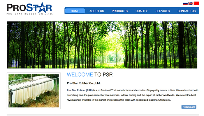 Pro Star Rubber Co., Ltd.